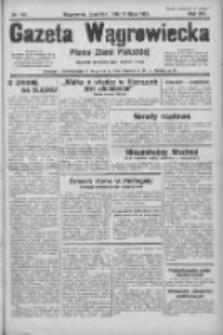 Gazeta Wągrowiecka: pismo ziemi pałuckiej 1933.07.13 R.13 Nr158