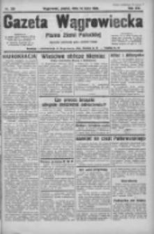 Gazeta Wągrowiecka: pismo ziemi pałuckiej 1933.07.14 R.13 Nr159