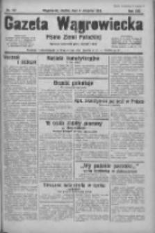 Gazeta Wągrowiecka: pismo ziemi pałuckiej 1933.08.04 R.13 Nr177