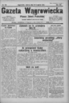 Gazeta Wągrowiecka: pismo ziemi pałuckiej 1933.08.19 R.13 Nr189