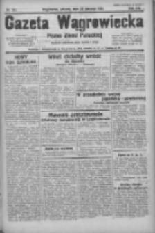 Gazeta Wągrowiecka: pismo ziemi pałuckiej 1933.08.22 R.13 Nr191