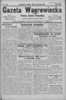 Gazeta Wągrowiecka: pismo ziemi pałuckiej 1933.08.26 R.13 Nr195