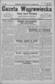 Gazeta Wągrowiecka: pismo ziemi pałuckiej 1933.08.27 R.13 Nr196