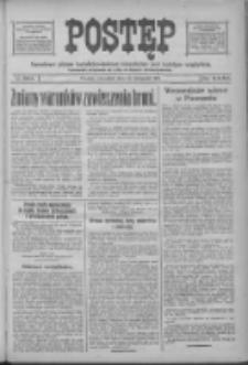 Postęp 1918.11.14 R.29 Nr262