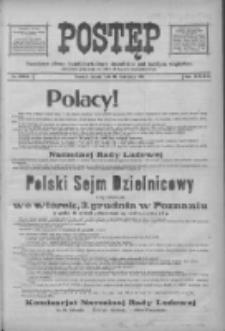 Postęp 1918.11.16 R.29 Nr264