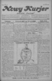 """Nowy Kurjer: dawniej """"Postęp"""" 1929.05.26 R.40 Nr120"""