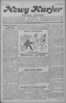 """Nowy Kurjer: dawniej """"Postęp"""" 1929.05.28 R.40 Nr121"""