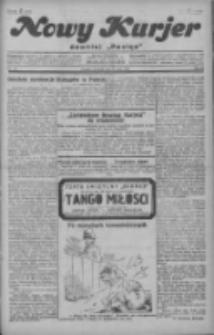 """Nowy Kurjer: dawniej """"Postęp"""" 1929.05.30 R.40 Nr123"""