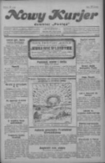 """Nowy Kurjer: dawniej """"Postęp"""" 1929.06.14 R.40 Nr135"""