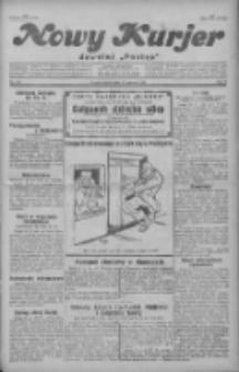 """Nowy Kurjer: dawniej """"Postęp"""" 1929.06.21 R.40 Nr141"""