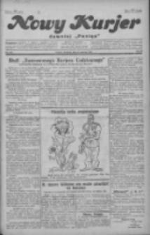 """Nowy Kurjer: dawniej """"Postęp"""" 1929.06.23 R.40 Nr143"""