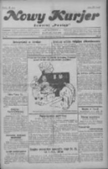 """Nowy Kurjer: dawniej """"Postęp"""" 1929.06.25 R.40 Nr144"""