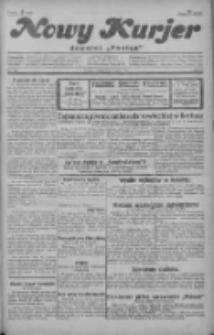 """Nowy Kurjer: dawniej """"Postęp"""" 1929.07.06 R.40 Nr153"""