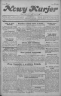 """Nowy Kurjer: dawniej """"Postęp"""" 1929.07.14 R.40 Nr160"""