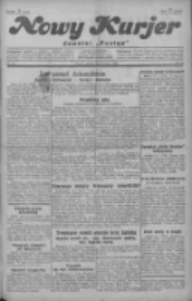 """Nowy Kurjer: dawniej """"Postęp"""" 1929.07.16 R.40 Nr161"""