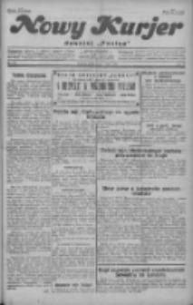 """Nowy Kurjer: dawniej """"Postęp"""" 1929.07.17 R.40 Nr162"""