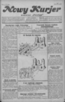 """Nowy Kurjer: dawniej """"Postęp"""" 1929.07.23 R.40 Nr167"""