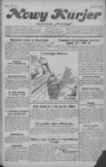 """Nowy Kurjer: dawniej """"Postęp"""" 1929.07.24 R.40 Nr168"""