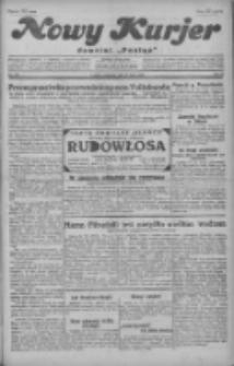 """Nowy Kurjer: dawniej """"Postęp"""" 1929.07.25 R.40 Nr169"""