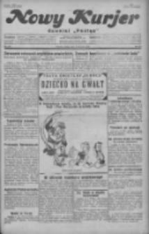 """Nowy Kurjer: dawniej """"Postęp"""" 1929.08.03 R.40 Nr177"""