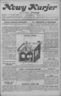 """Nowy Kurjer: dawniej """"Postęp"""" 1929.08.04 R.40 Nr178"""