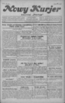 """Nowy Kurjer: dawniej """"Postęp"""" 1929.08.06 R.40 Nr179"""