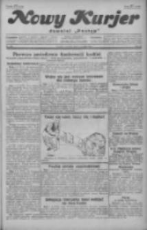 """Nowy Kurjer: dawniej """"Postęp"""" 1929.08.08 R.40 Nr181"""