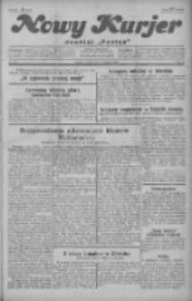 """Nowy Kurjer: dawniej """"Postęp"""" 1929.08.09 R.40 Nr182"""