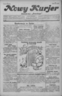 """Nowy Kurjer: dawniej """"Postęp"""" 1929.08.14 R.40 Nr186"""