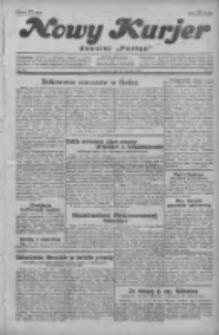 """Nowy Kurjer: dawniej """"Postęp"""" 1929.08.15 R.40 Nr187"""
