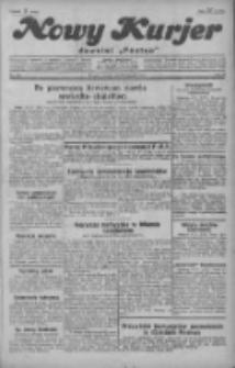 """Nowy Kurjer: dawniej """"Postęp"""" 1929.08.20 R.40 Nr190"""