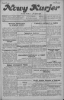 """Nowy Kurjer: dawniej """"Postęp"""" 1929.08.25 R.40 Nr195"""