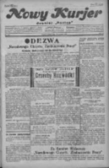 """Nowy Kurjer: dawniej """"Postęp"""" 1929.08.31 R.40 Nr200"""