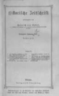 Historische Zeitschrift. 1871 Band 25 Heft 1-2