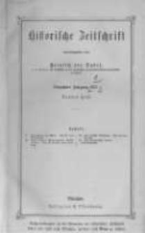 Historische Zeitschrift. 1871 Band 26 Heft 3-4