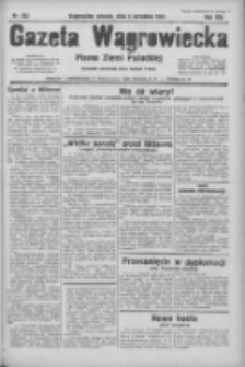 Gazeta Wągrowiecka: pismo ziemi pałuckiej 1933.09.05 R.13 Nr203