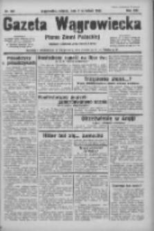 Gazeta Wągrowiecka: pismo ziemi pałuckiej 1933.09.09 R.13 Nr207
