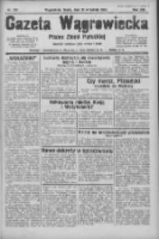 Gazeta Wągrowiecka: pismo ziemi pałuckiej 1933.09.13 R.13 Nr210