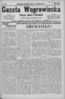 Gazeta Wągrowiecka: pismo ziemi pałuckiej 1933.09.17 R.13 Nr214