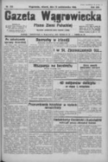 Gazeta Wągrowiecka: pismo ziemi pałuckiej 1933.10.10 R.13 Nr233