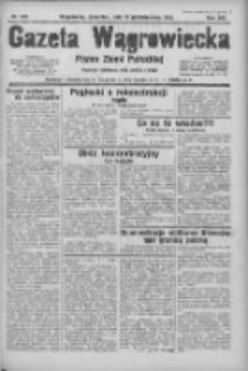 Gazeta Wągrowiecka: pismo ziemi pałuckiej 1933.10.12 R.13 Nr235
