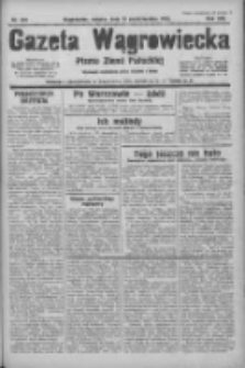 Gazeta Wągrowiecka: pismo ziemi pałuckiej 1933.10.14 R.13 Nr237