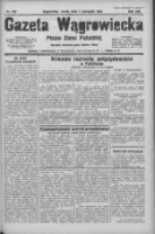 Gazeta Wągrowiecka: pismo ziemi pałuckiej 1933.11.01 R.13 Nr252