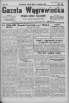 Gazeta Wągrowiecka: pismo ziemi pałuckiej 1933.11.03 R.13 Nr253