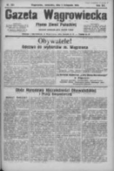 Gazeta Wągrowiecka: pismo ziemi pałuckiej 1933.11.05 R.13 Nr255