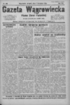 Gazeta Wągrowiecka: pismo ziemi pałuckiej 1933.11.07 R.13 Nr256