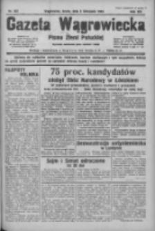 Gazeta Wągrowiecka: pismo ziemi pałuckiej 1933.11.08 R.13 Nr257