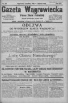 Gazeta Wągrowiecka: pismo ziemi pałuckiej 1933.11.16 R.13 Nr264