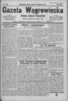 Gazeta Wągrowiecka: pismo ziemi pałuckiej 1933.11.22 R.13 Nr269
