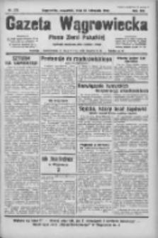 Gazeta Wągrowiecka: pismo ziemi pałuckiej 1933.11.23 R.13 Nr270